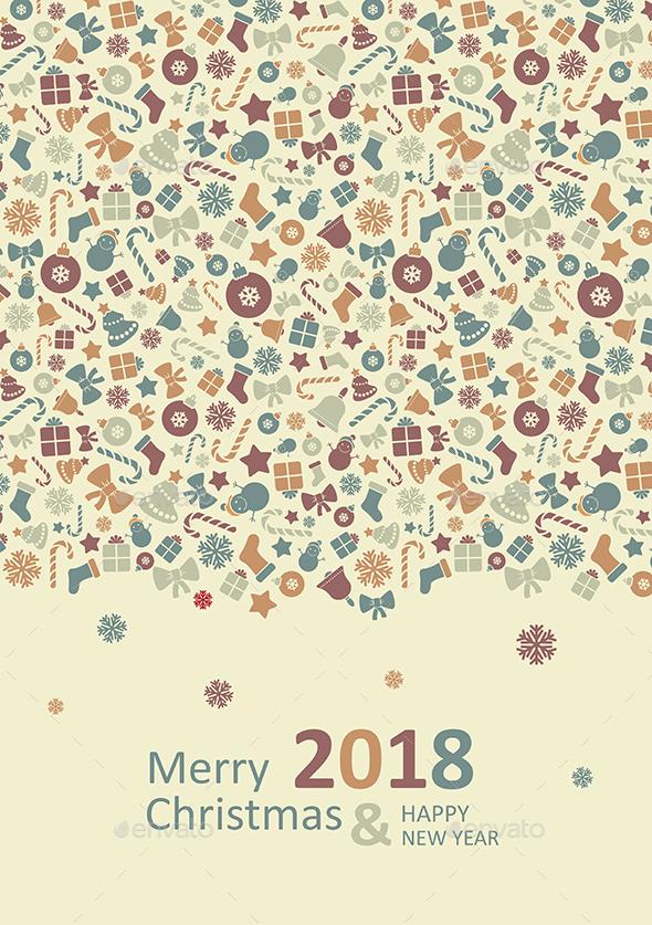 Merry Christmas Card 2017 - Christmas Seasons/Holidays