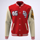 Varsity Baseball Bomber Jacket Mock-Up