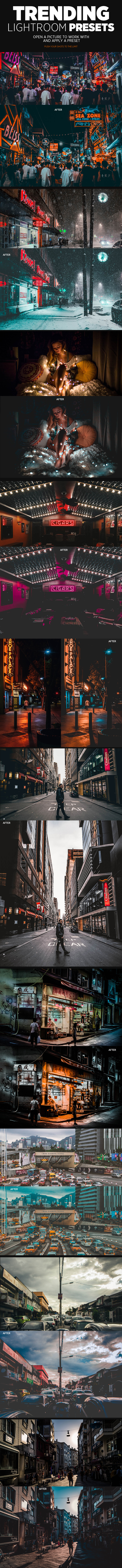 GraphicRiver Trending Lightroom Presets 21135252