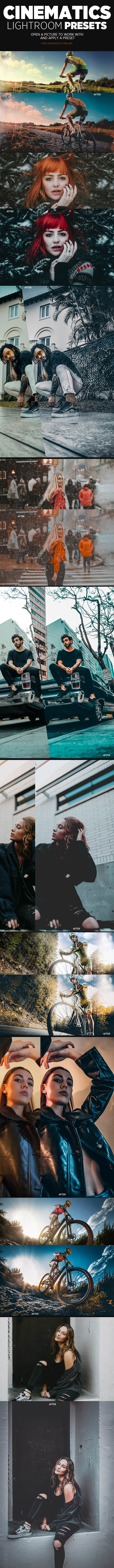 GraphicRiver Cinematics Lightroom Presets 21135251