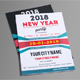 A4 New Year Party Flyer  #01 - GraphicRiver Item for Sale
