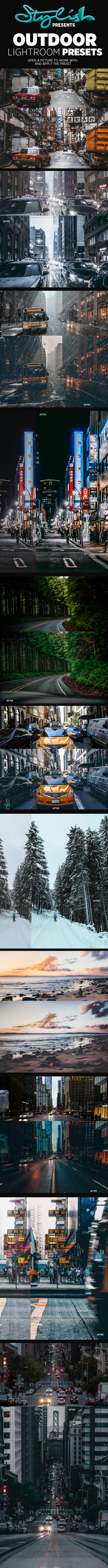 GraphicRiver Outdoor Cinematic Lightroom Presets 21130117