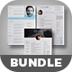 The Bundle Resume Template - GraphicRiver Item for Sale