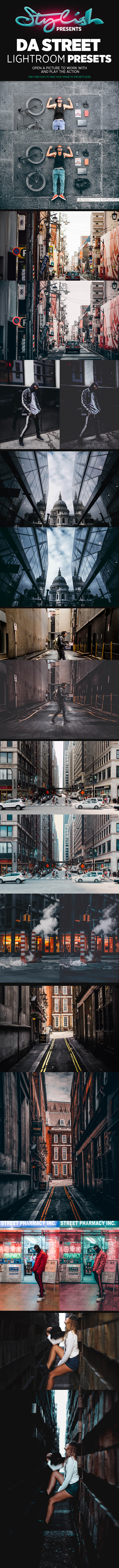 GraphicRiver DA Street Stylish Lightroom Presets 21138475