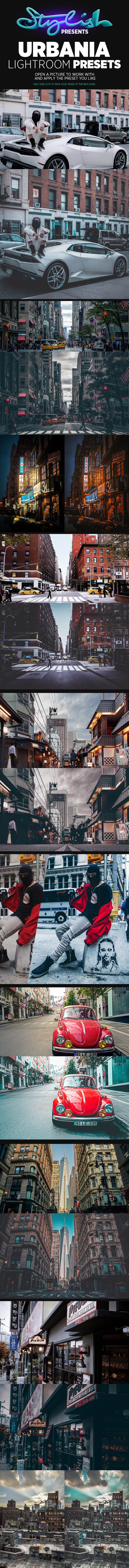 Urbania Lightroom Presets - Lightroom Presets Add-ons