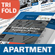 Apartment For Rent Trifold Brochure 3 - GraphicRiver Item for Sale