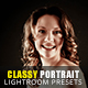 20 Classy Portrait Lightroom Presets - GraphicRiver Item for Sale