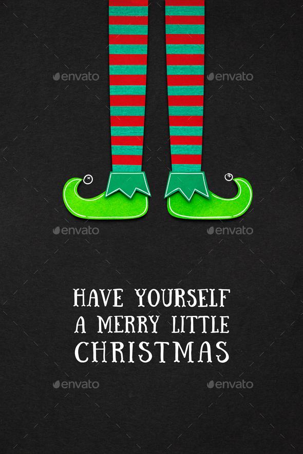 Elf. - Stock Photo - Images