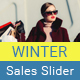 Winter Sales Slider - GraphicRiver Item for Sale