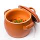 Stewed pork and potatoes in crock pot. - PhotoDune Item for Sale