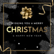 Golden Classy Christmas FB Cover + Profile - GraphicRiver Item for Sale