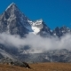 Clouds and Mountains in the Himalayas - VideoHive Item for Sale
