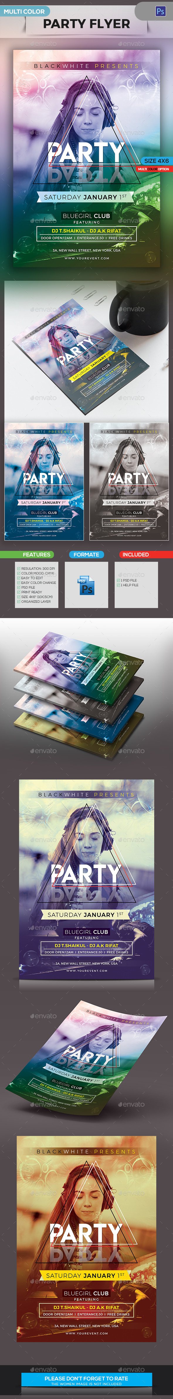 GraphicRiver Party Flyer 21128563
