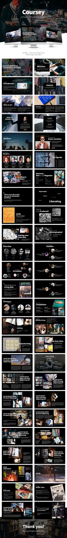 Coursey Multipurpose Powerpoint Presentation Slide - PowerPoint Templates Presentation Templates
