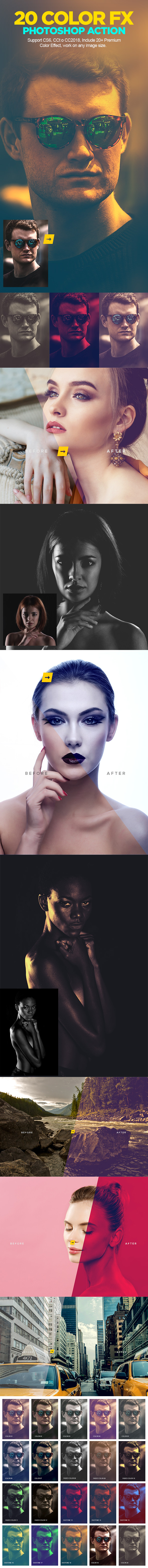 GraphicRiver Color Grading Photoshop Action V.01 21139567