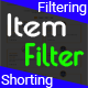 Item Filter - Multipurpose Isotope Filtering and Shorting