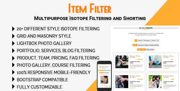 CodeCanyon Item Filter Multipurpose Isotope Filtering and Shorting 21139655