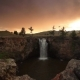Sunset Over Waterfall Ulaan Tsutgalan, Mongolia. - VideoHive Item for Sale