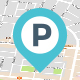 Parking Near my Location App UI Kit PSD