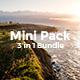 3 in 1 MiniPack Bundle Creative Powerpoint Template