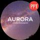 Aurora Presentation Template