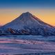 Stunning Winter Mountain Landscape of Kamchatka Peninsula at Sunrise - PhotoDune Item for Sale