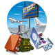 Air Travel - GraphicRiver Item for Sale