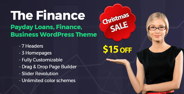 The Finance - Payday Loans, Finance and Business WordPress Theme - Business Corporate
