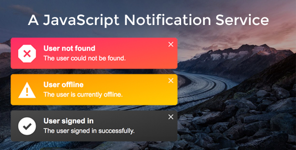 A JavaScript Notification Service