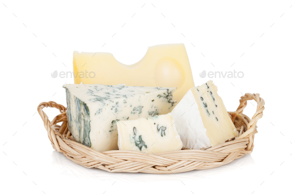 Various types of cheeses - Stock Photo - Images