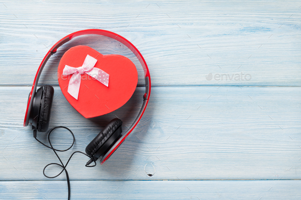 Music gift concept - Stock Photo - Images