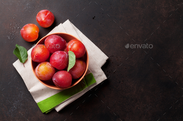Fresh ripe peaches - Stock Photo - Images