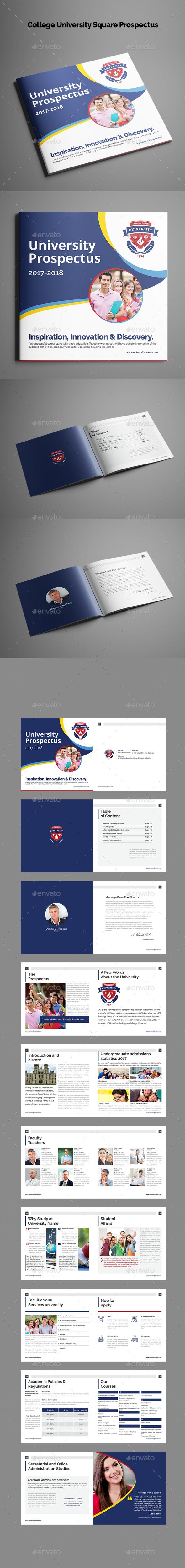 GraphicRiver College University Square Prospectus 21140643