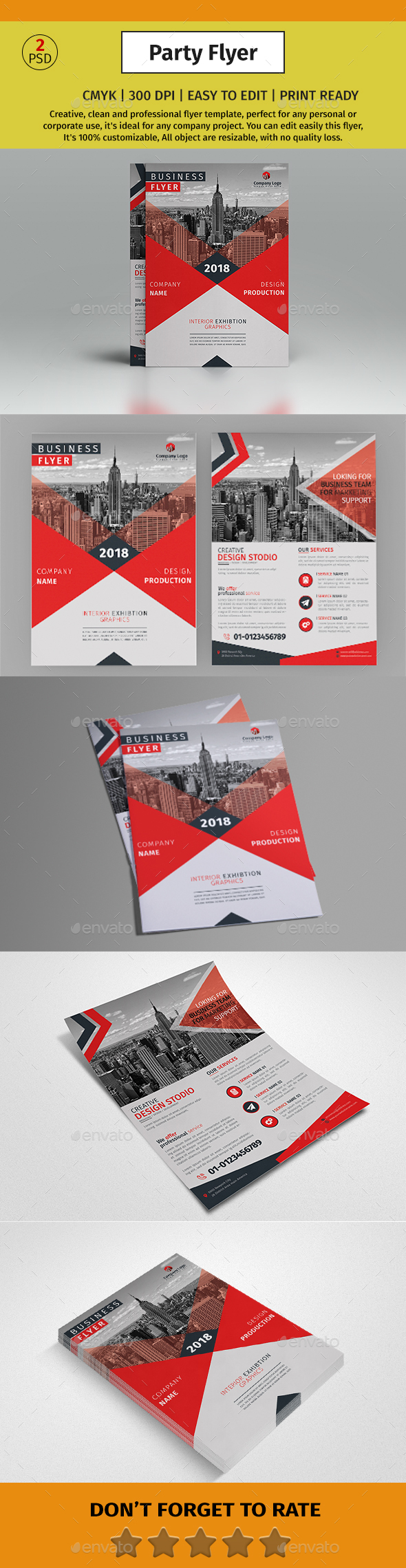 GraphicRiver A4 Corporate Business Flyer #25 21140793