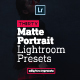 30 Premium Matte Portrait Lightroom Presets - GraphicRiver Item for Sale