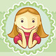 Icons Of Cute Girls - GraphicRiver Item for Sale