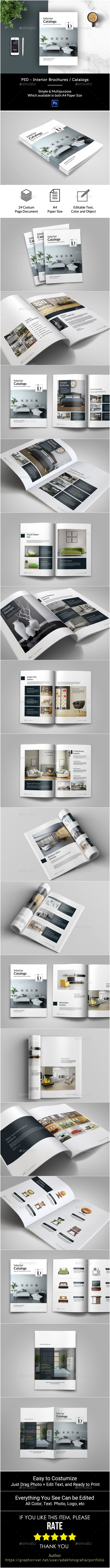 GraphicRiver PSD Interior Brochure Catalogs 21141050