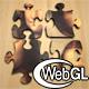 3d WebGL Puzzle