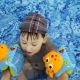 Little Kids Bathe in the Swimming Pool - VideoHive Item for Sale