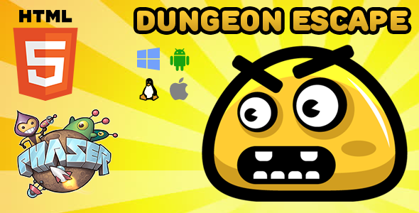 CodeCanyon Dungeon Escape HTML5 Game Phaser 21141436