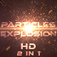 Particles Explosions - VideoHive Item for Sale