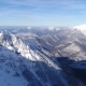 Extremely Beautiful Winter Mountains From Flight Altitude - VideoHive Item for Sale