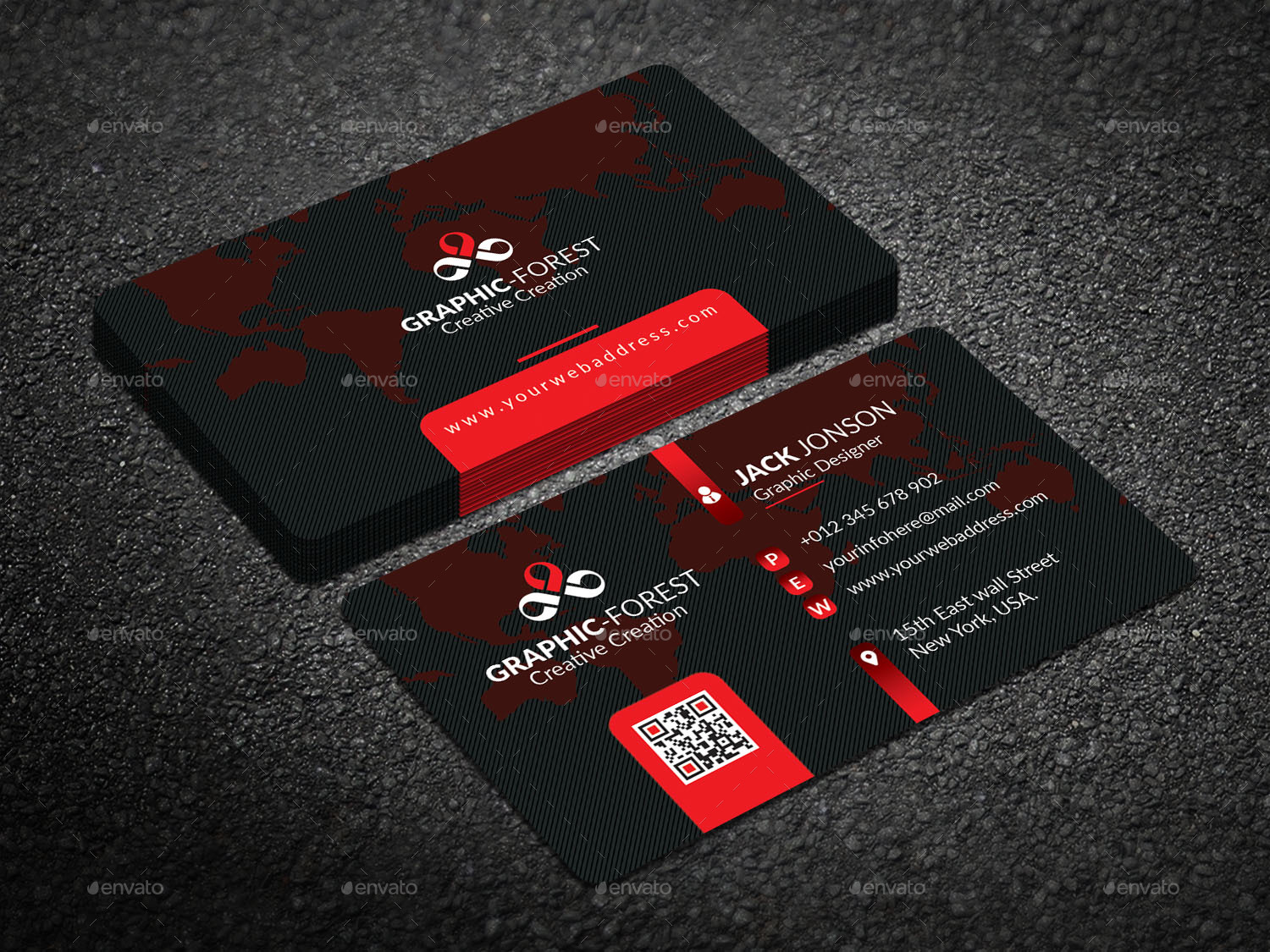 Business Card by Graphic-Forest | GraphicRiver