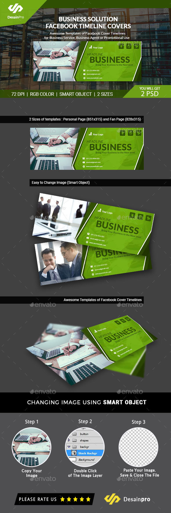 Business Services Facebook Timeline Cover - AR - Facebook Timeline Covers Social Media