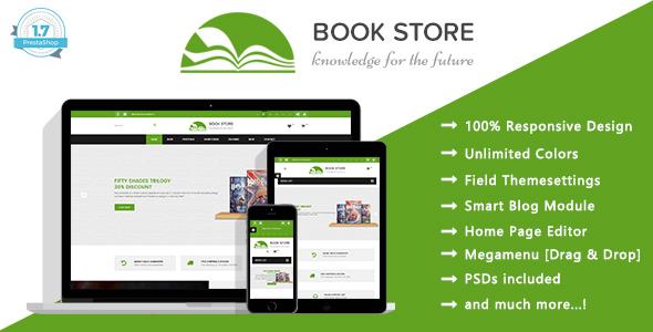 Book Store - Books Publisher Responsive Prestashop 1.7 Theme - Shopping PrestaShop