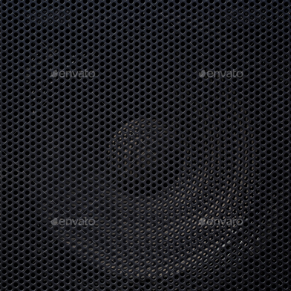 Black honeycomb background - Stock Photo - Images