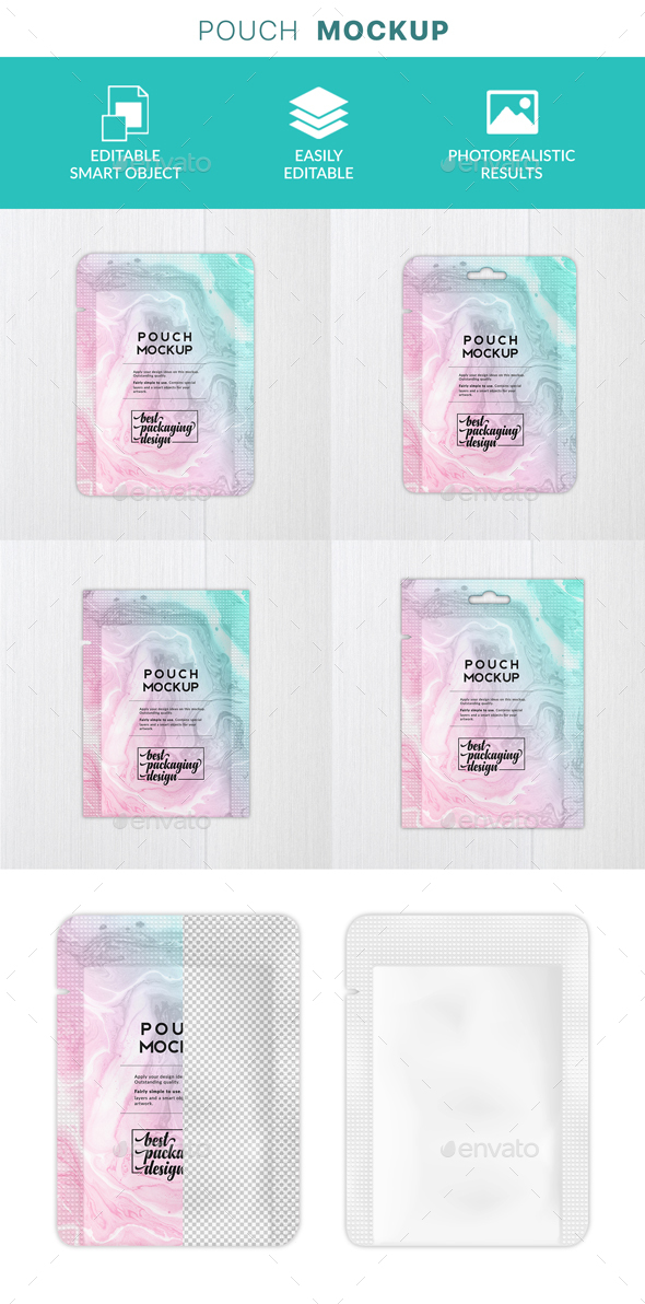 GraphicRiver Face Mask Pouch Packaging Mockup 21135949