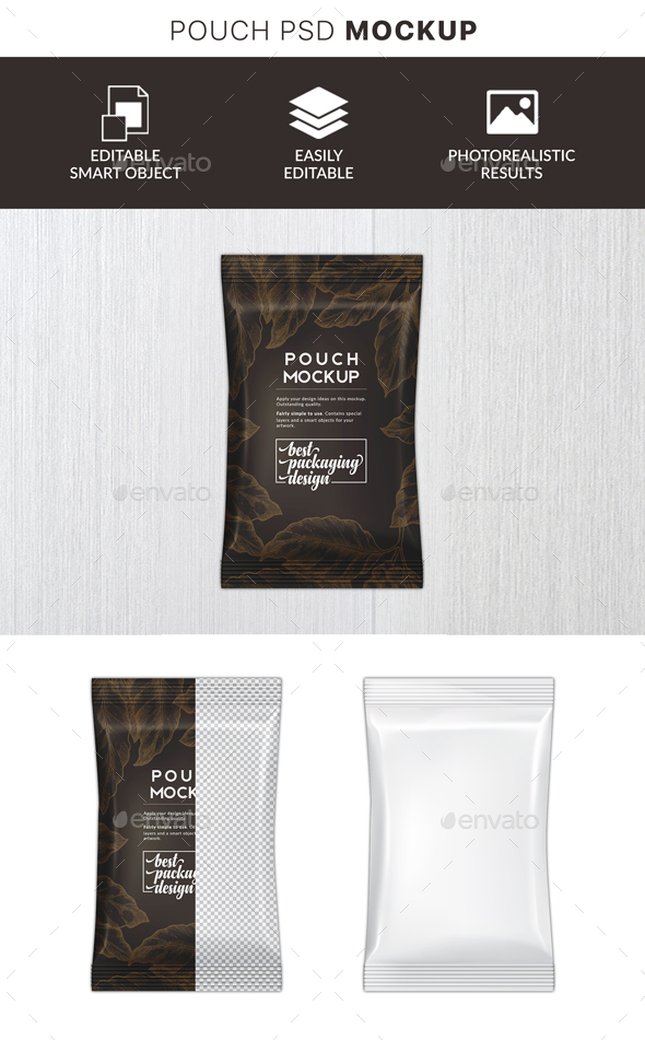 GraphicRiver Plastic Wrapper Mockup 21142038