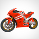 Motorcycle Honda rc213v (Moto GP)