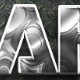 10 Photoshop SILVER Text Effect Styles - GraphicRiver Item for Sale